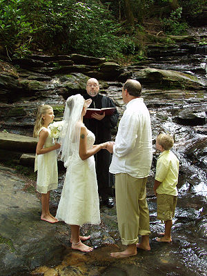 ICP Waterfall wedding